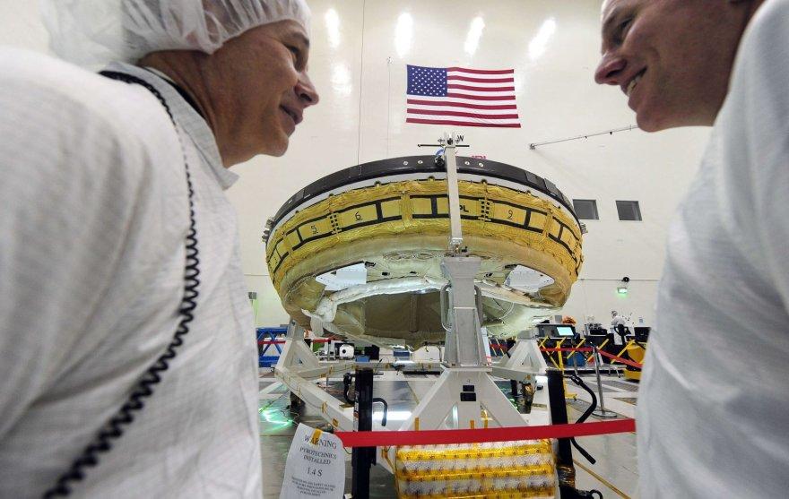 NASA išmėgins viršgarsinį lėktuvą Low Density Supersonic Decelerator