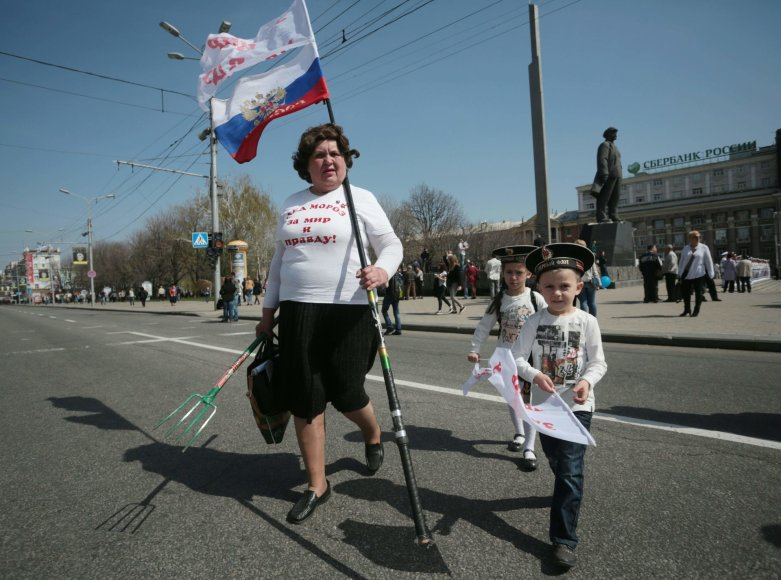 Donecko šventė