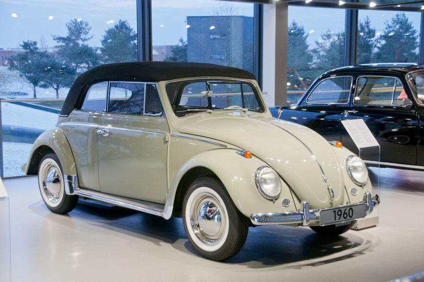 """1960-ųjų """"Volkswagen Beetle"""" kabrioletas"""