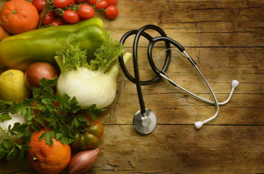Augalinė mityba padeda išvengti daugybės ligų.