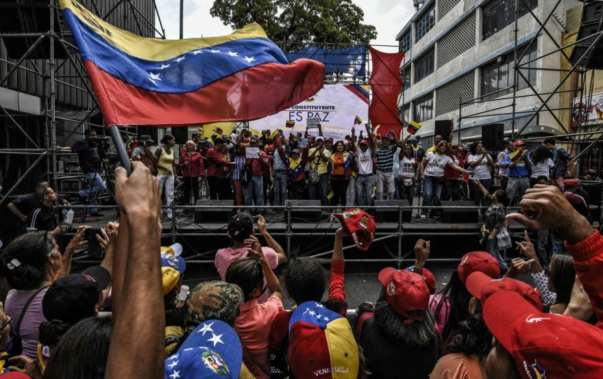 Opozicijos demonstracija Venesueloje