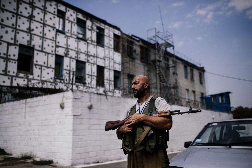 Teroristai apšaudė kalėjimą Donecke