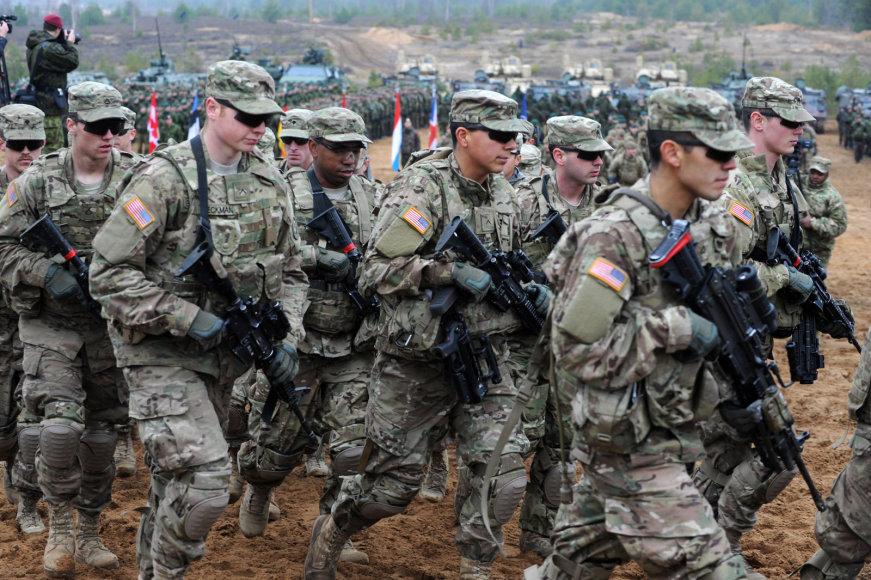 JAV kariai Pabradėje (2014 m. lapkričio 13 d.)