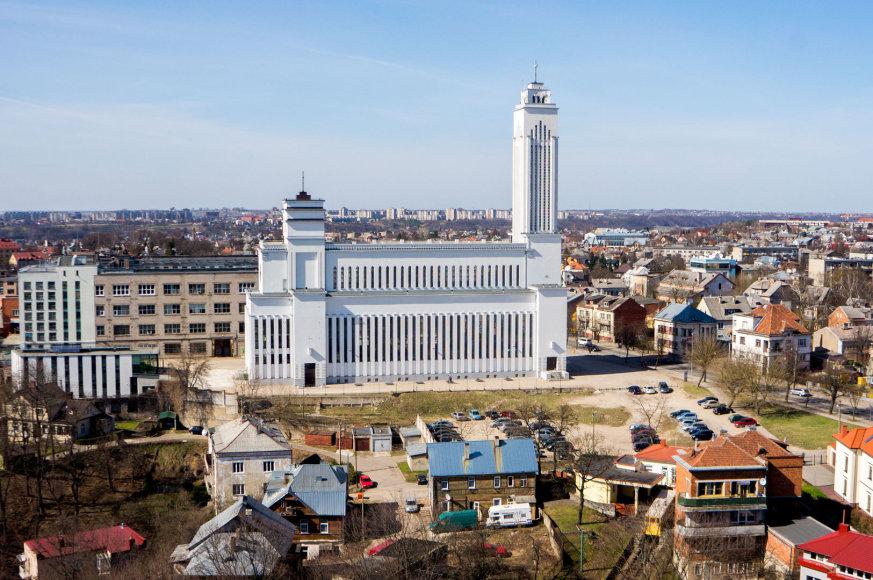 Buvusios Bangos gamyklos teritorija. Kauno miesto savivaldybės nuotr.