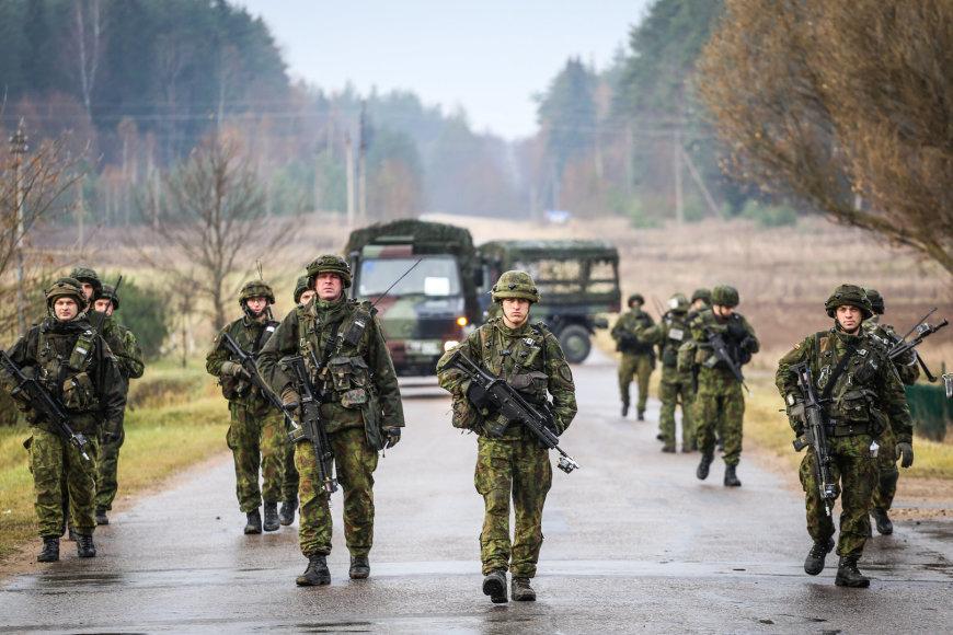 Greitojo reagavimo pajėgų užduotis - reaguoti į hibridines grėsmes.