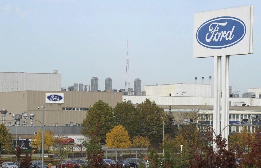 """""""Ford"""" automobilių gamykla"""