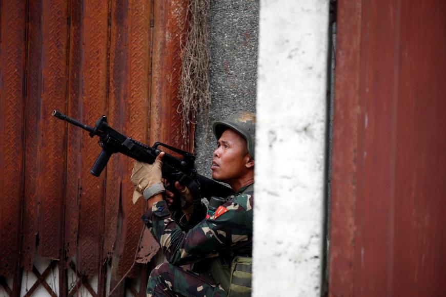 Pietų Filipinuose tęsiasi neramumai