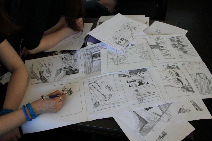 Komiksuose apie Čiurlionį susipina tikros ir išgalvotos jo gyvenimo detalės