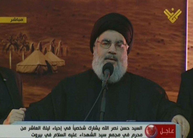 """""""Hizbollah"""" vadovas Hassanas Nasrallah"""