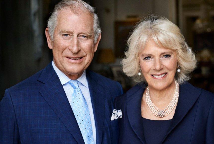 Princas Charlesas ir Kornvalio hercogienė Camilla