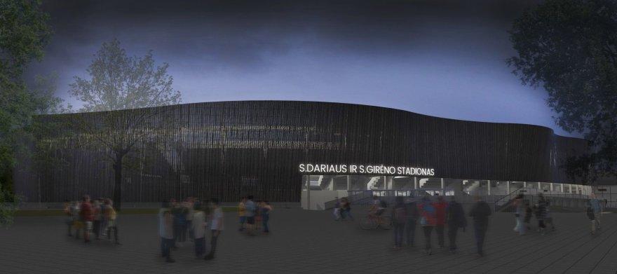 S.Dariaus ir S.Girėno stadiono projektas