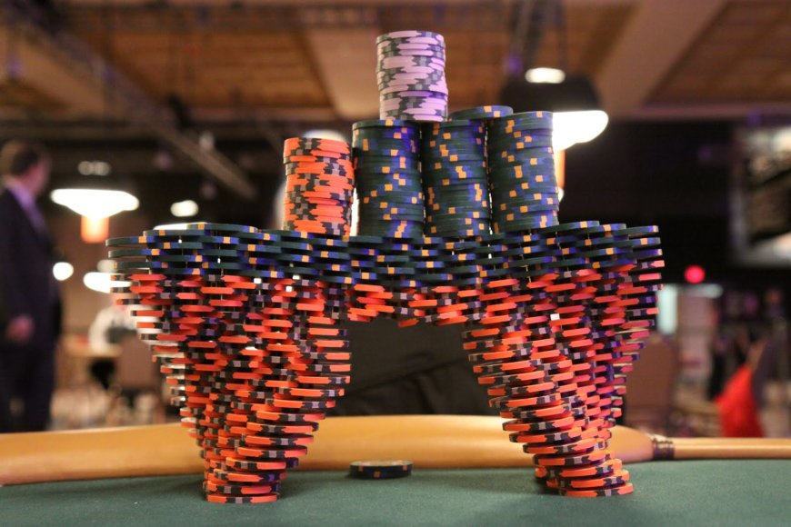 WSOP šventės žetonai