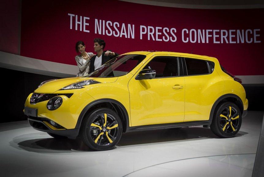 """Atnaujintas """"Nissan Juke"""" Ženevoje"""