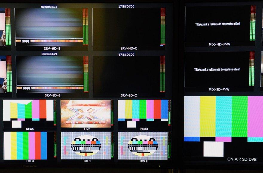 Televizijos protestas Vengrijoje