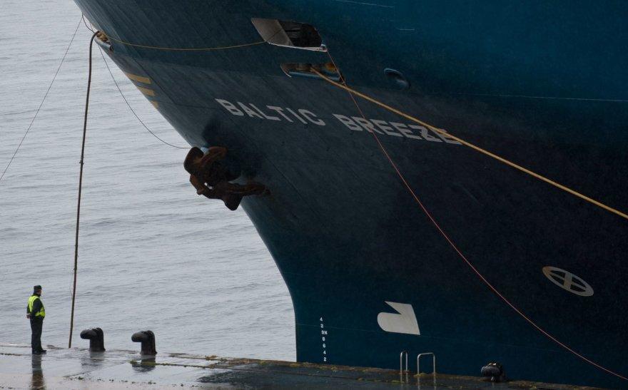 """Baltic Breeze"" laivas Ispanijoje"