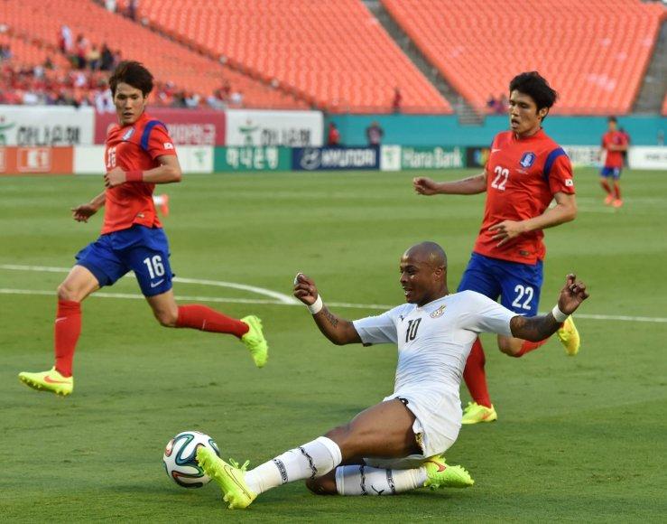 Ganos futbolo rinktinės žaidėjas Andre Ayew