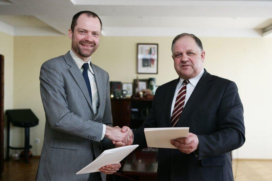 Rytis Davidovičius ir Donatas Jurgaitis