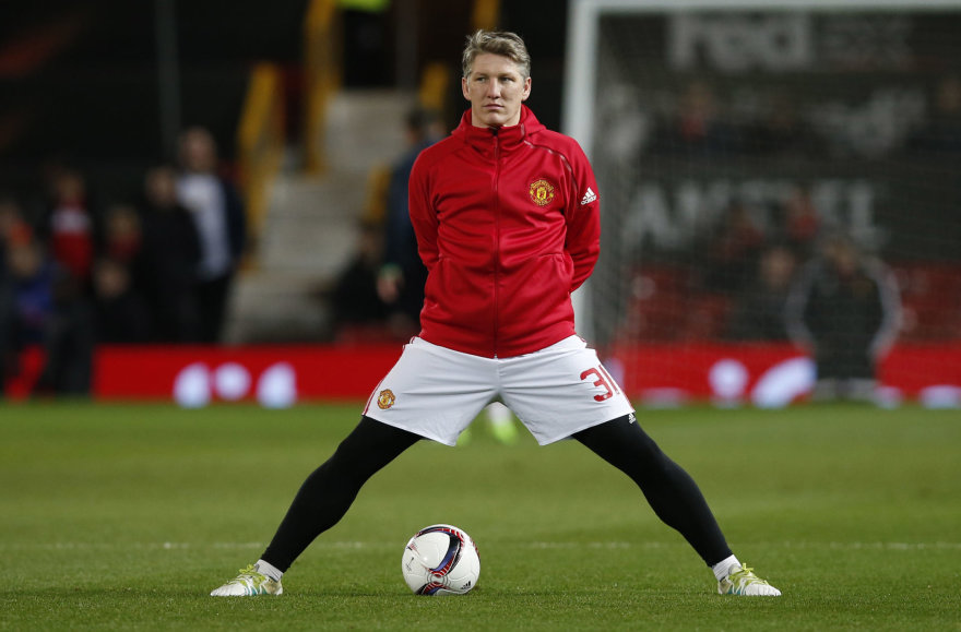 "Bastiano Schweinsteigerio karjera ""Man Utd"" nesusiklostė"