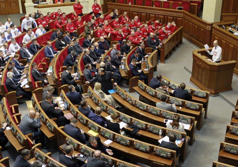 Aukščiausioji Rada nesugebėjo susitarti dėl Julijos Tymošenko.