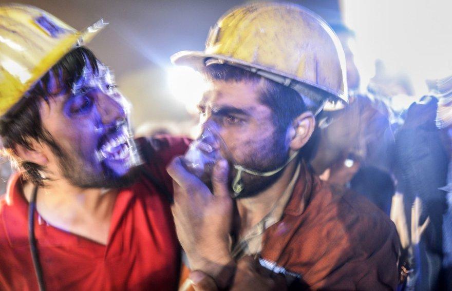 Sužeistas angliakasys Turkijoje
