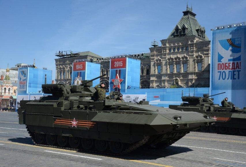 Pergalės dienos repeticija Maskvoje