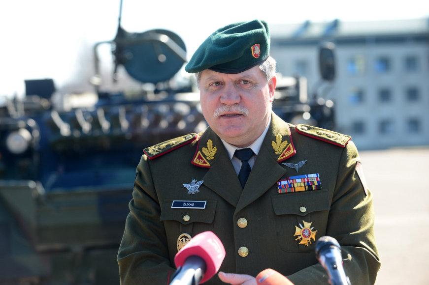 Lietuvos kariuomenės vadas Vytautas Jonas Žukas