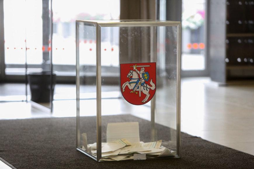 Balsavimo apylinkėje