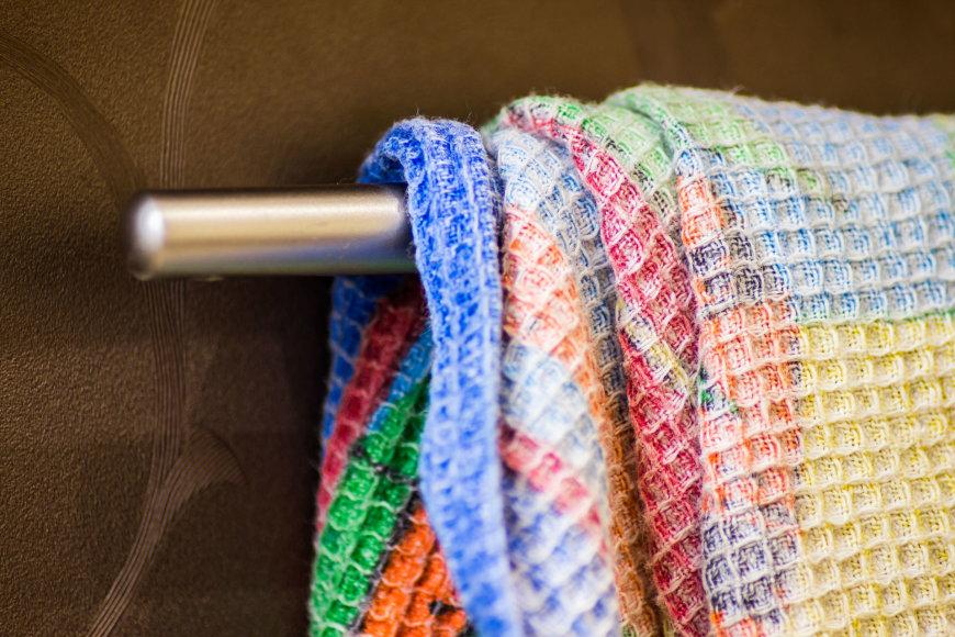 Virtuvinis rankšluostis.