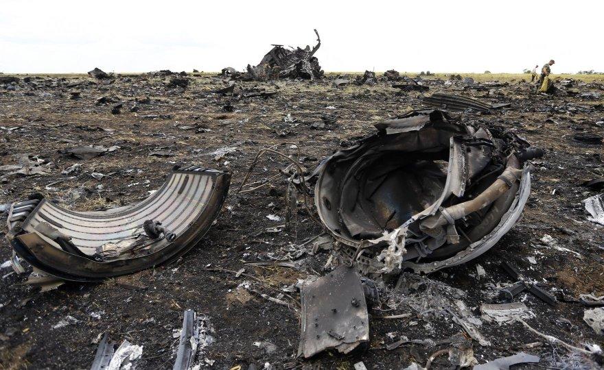 Teroristų numuštas lėktuvas