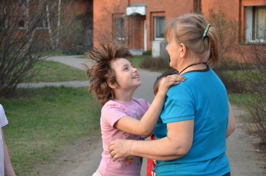 SOS mamos ir globojamo vaiko akimirka