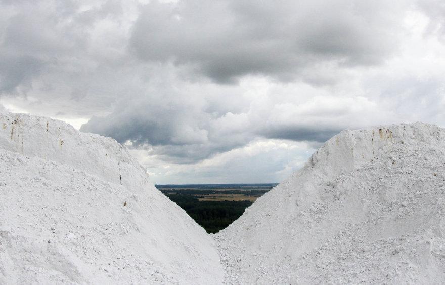 """Kėdainių kalnai bendrovės """"Lifosa"""" teritorijoje"""