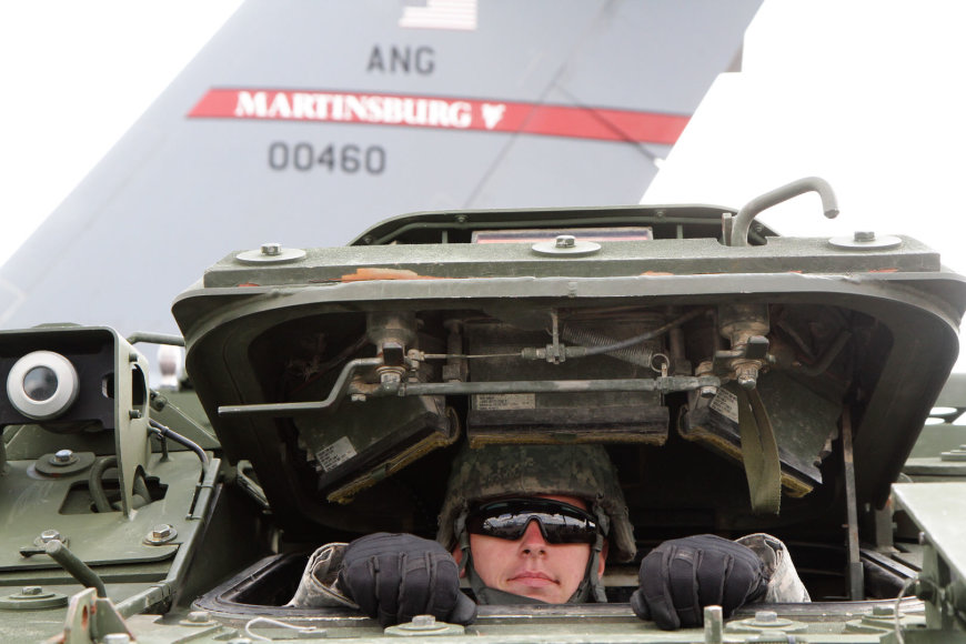 JAV kariai dalyvauja pratybose Lietuvoje