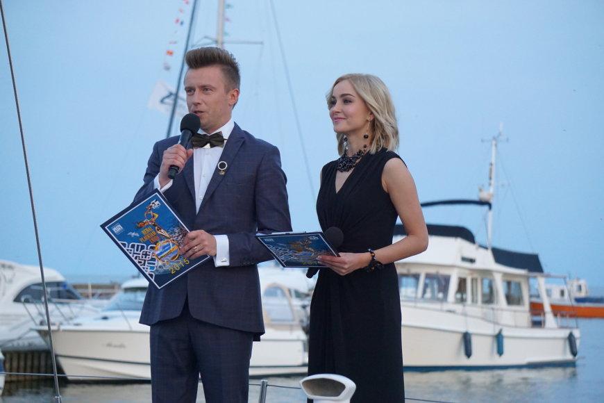 Marius Jampolskis ir Justė Zinkevičiūtė