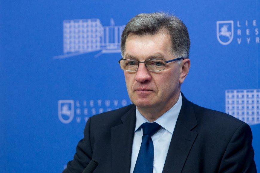 Lietuvos premjeras Algirdas Butkevičius
