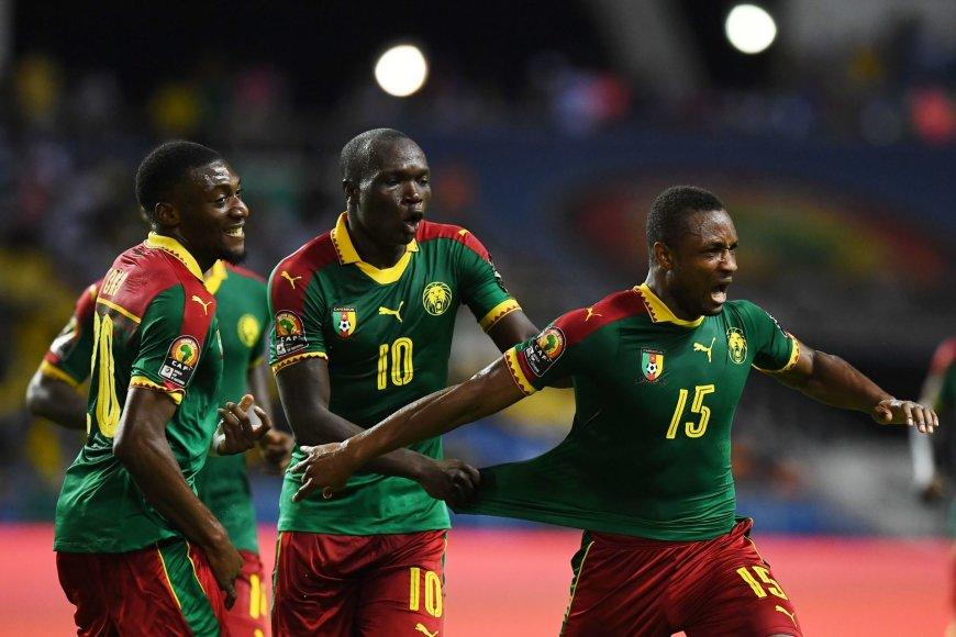 Kamerūno futbolininkai