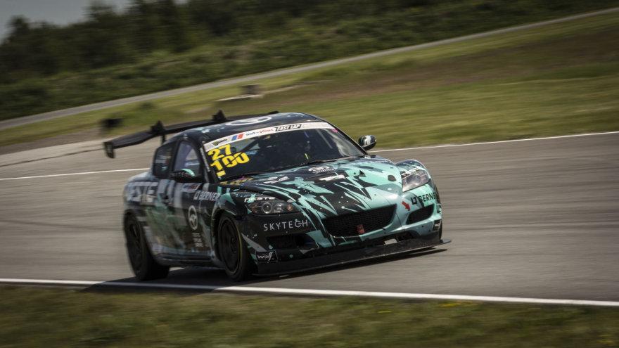 """""""Tauras Racing"""" komanda """"Autoplius.lt Fast Lap"""" varžybose Estijoje"""