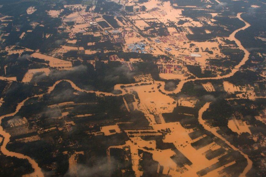 Potvyniai Malaizijoje