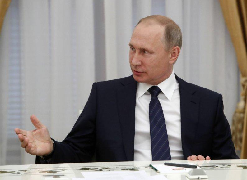 Rusijos prezidentas Vladimiras Putinas – pažeidžiamesnis nei gali atrodyti