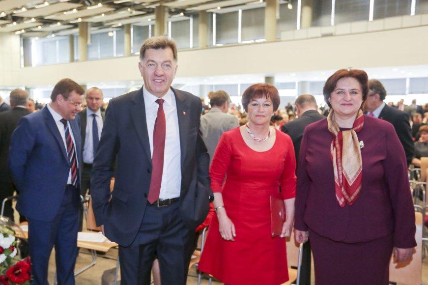 Algirdas Butkevičius, Birutė Vėsaitė ir Loreta Graužinienė