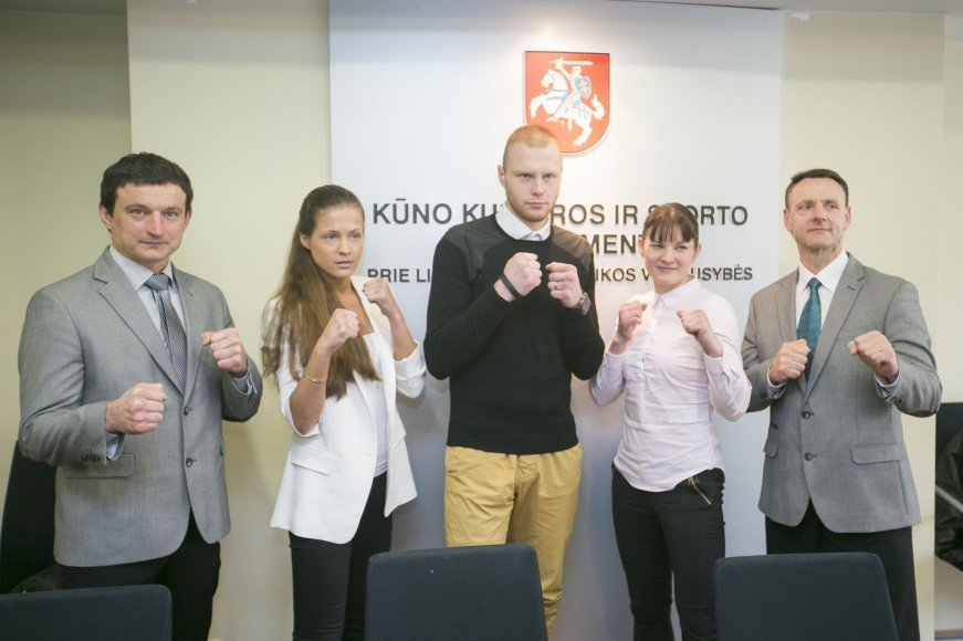 Kiokušin karatė spaudos konferencija