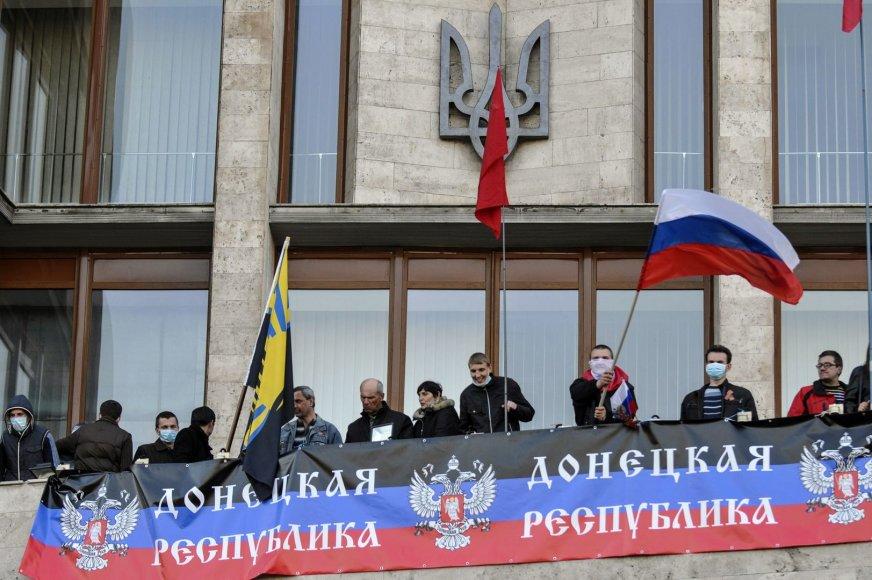 Separatistai Donecke