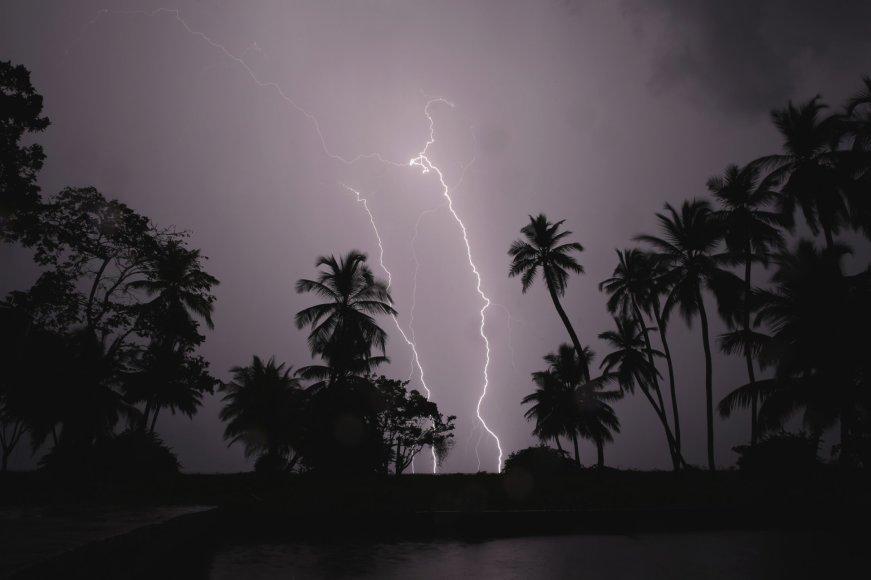 Žaibai virš Marakaibo ežero