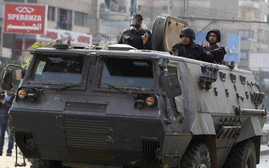 Egipto riaušių policija