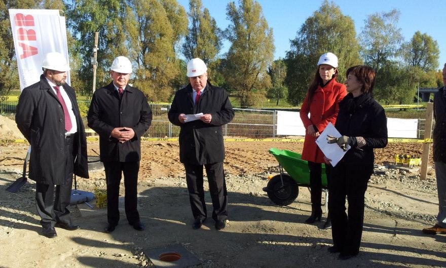 Energetikos ir automatikos lyderė ABB prie Vilniaus stato naują centrą