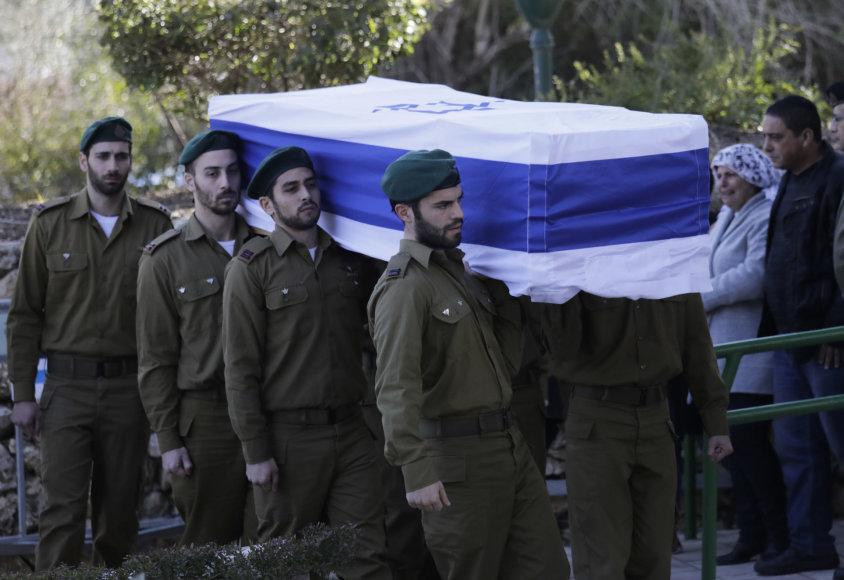 Izraelyje palaidoti per išpuolį Jeruzalėje žuvę kariai