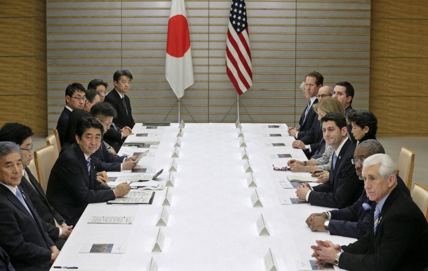 Japonijos ir JAV atstovų derybos dėl Ramiojo vandenyno laisvosios prekybos sutarties