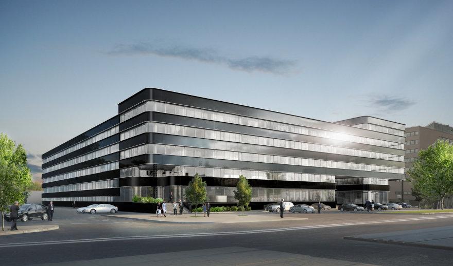 Taip atrodys būsimasis verslo centras Žalgirio g. 90
