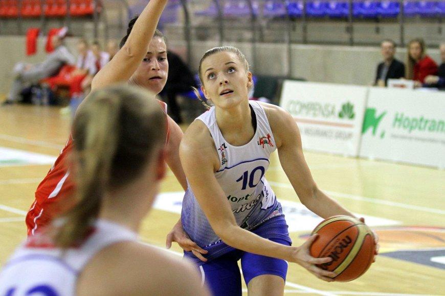 Akvilė Baronėnaitė prie pergalės pridėjo 14 taškų