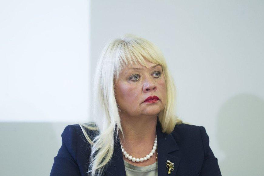 Visagino rajono merė Dalia Štraupaitė