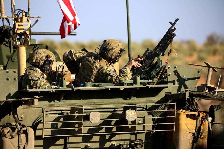 Į Siriją iš Irako atvyko JAV elitinio 75-ojo reindžerių pulko kariai